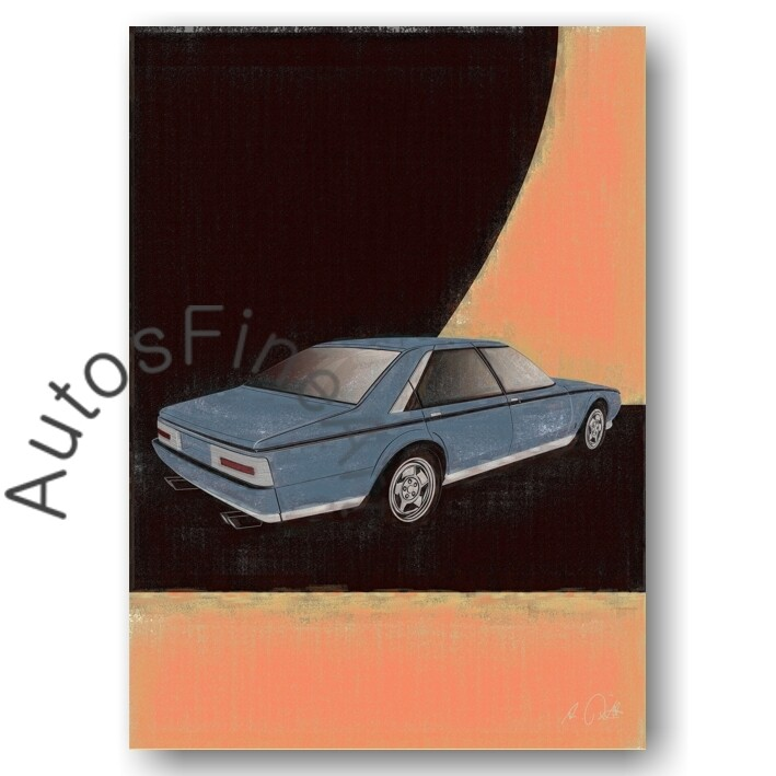 Ferrari Pinin Prototyp - HD Aluminiumbild No. 98aClassic