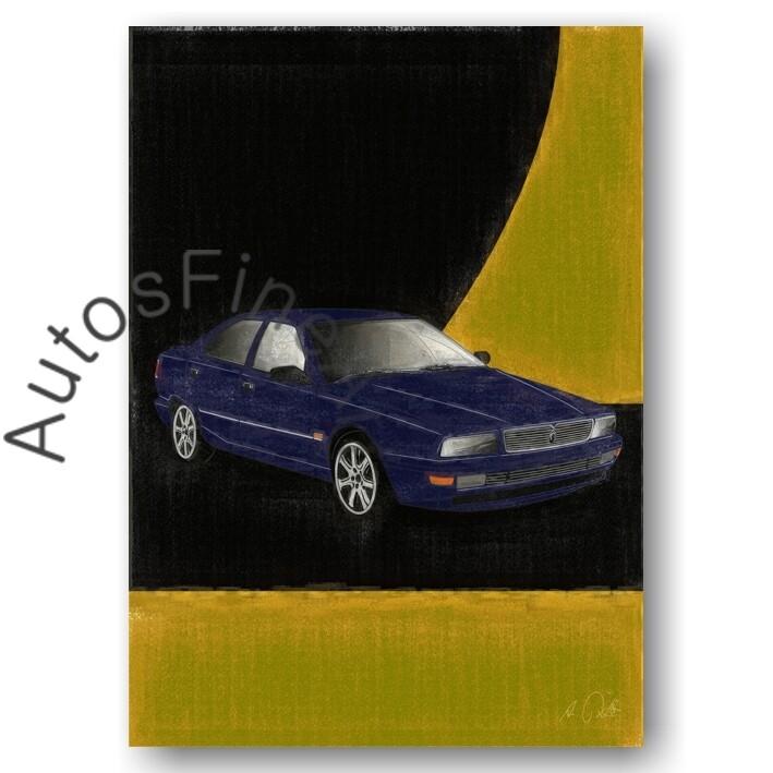 Maserati Quattroporte 4 - HD Aluminiumbild No. 97aClassic