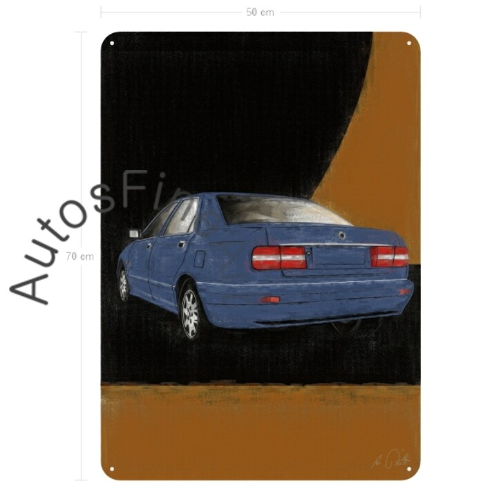 Lancia Kappa - Blechbild No. 96aClassic