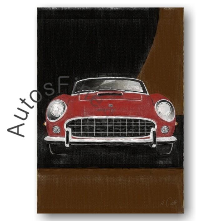 Ferrari Spyder California - Poster No. 95aClassic