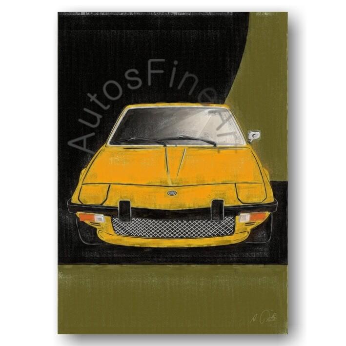 Fiat X1/9 - Poster No. 94aClassic