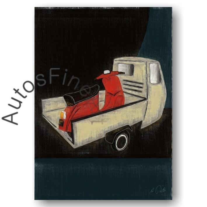 Ape + Vespa - Poster No. 93aClassic