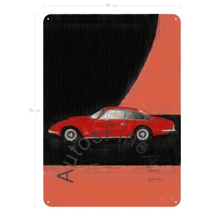 Ferrari 365 GT 2+2 - Blechbild No. 91aClassic