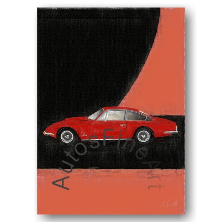 Ferrari 365 GT 2+2 - HD Aluminiumbild No. 91aClassic