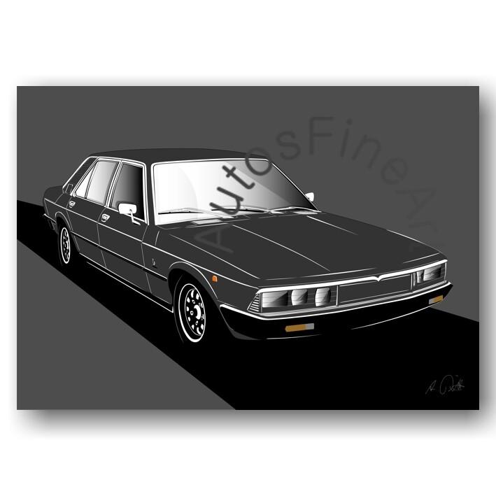 Maserati Quattroporte 2 - Poster No. 89sketch