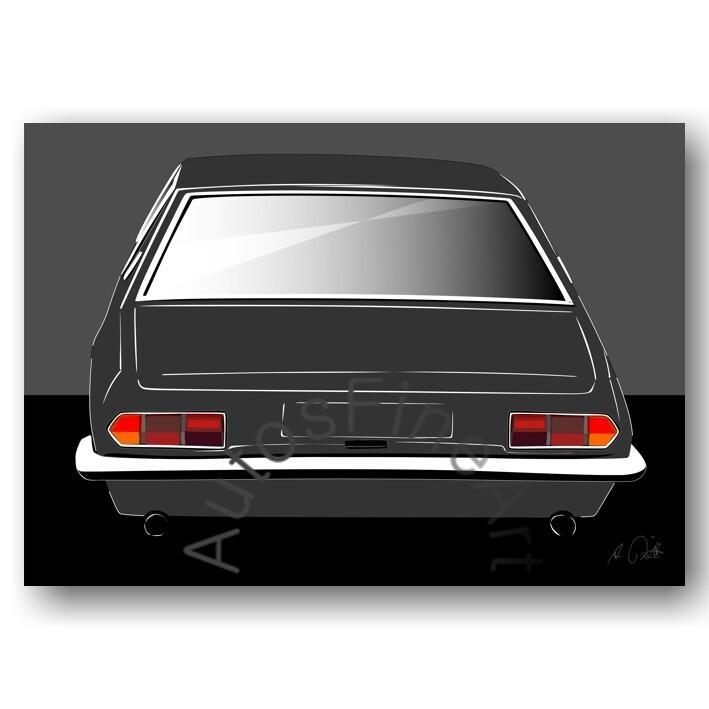Iso Rivolta Fidia - HD Aluminiumbild No. 88sketch