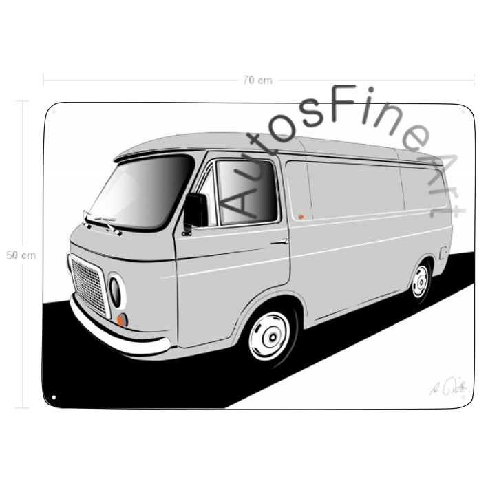 Fiat 238 T Furgonetta - Blechbild No. 85sketch