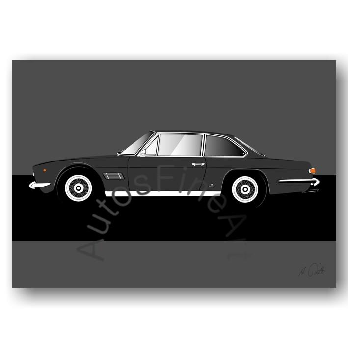 Maserati Mexico - HD Aluminiumbild No. 82sketch