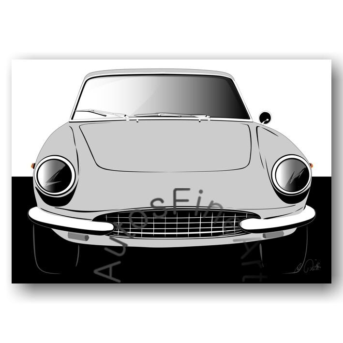 Ferrari 330 GTC - Poster No. 81sketch