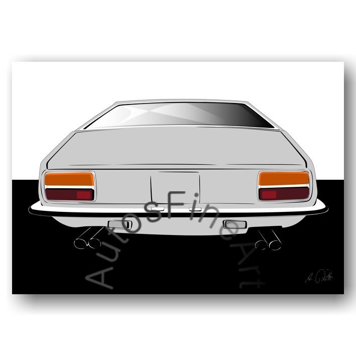 Lamborghini Jarama - Poster No. 80sketch