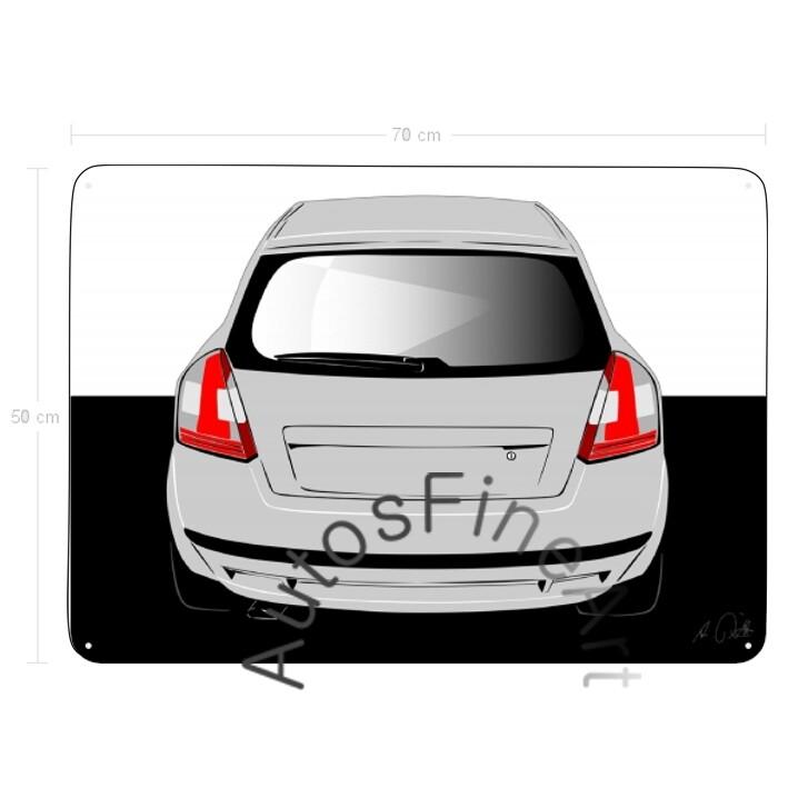 Fiat Stilo Abarth - Blechbild No. 77sketch
