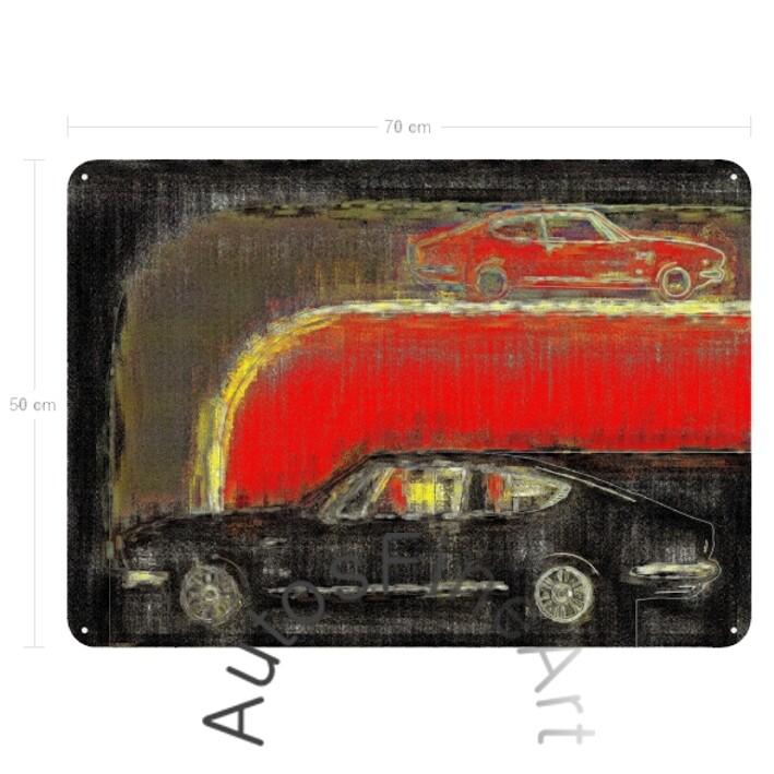 Fiat Dino Coupé - Blechbild No. 8high