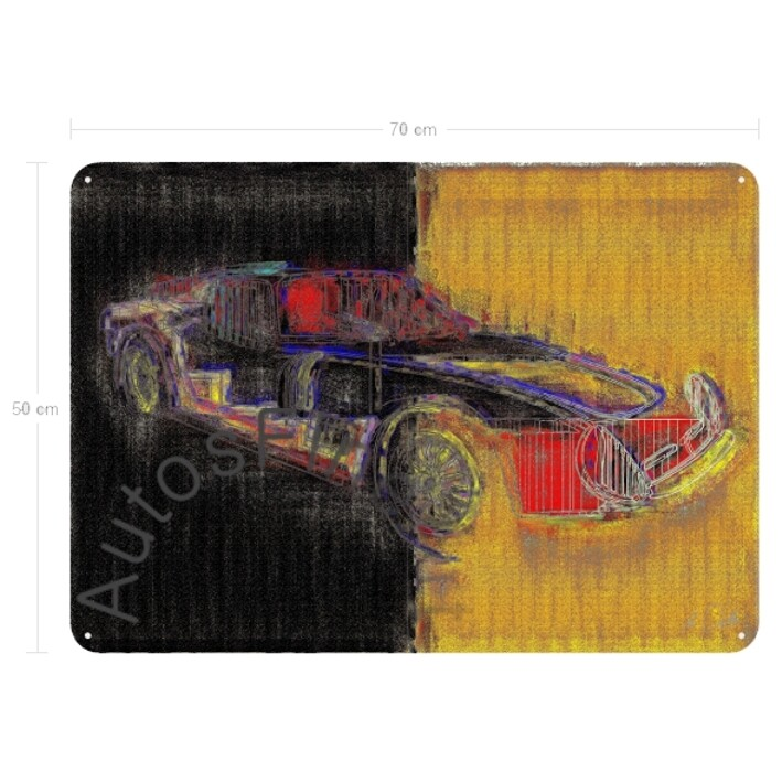 Bizzarrini 5300 GT - Blechbild No. 10high