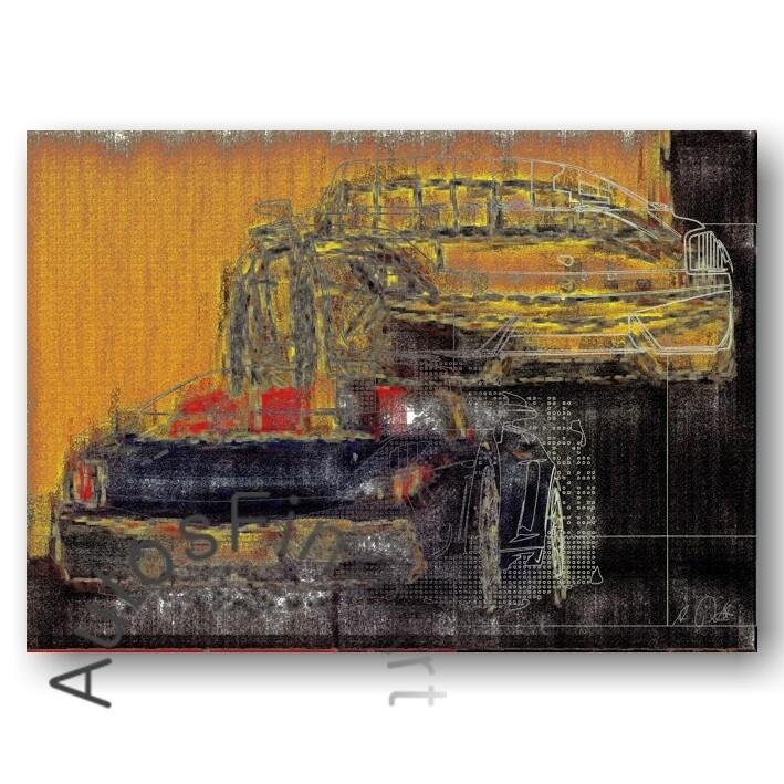 Lamborghini Gallardo Spyder - HD Aluminiumbild No. 12high