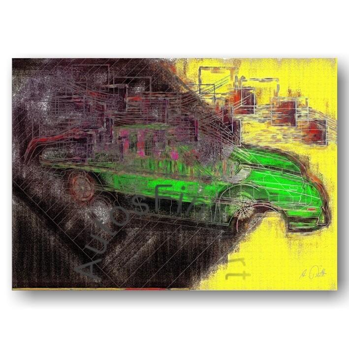 Lancia Gamma Coupé - Poster No. 36high