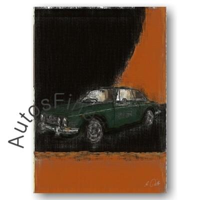 Alfa Romeo 2000 GTV BERTONE - HD Aluminiumbild No. 50aClassic