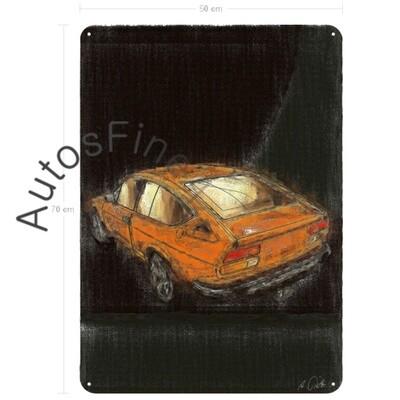 Alfa Romeo Alfetta GTV - Blechbild No. 7aClassic