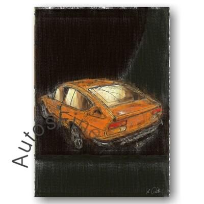 Alfa Romeo Alfetta GTV - Poster No. 7aClassic