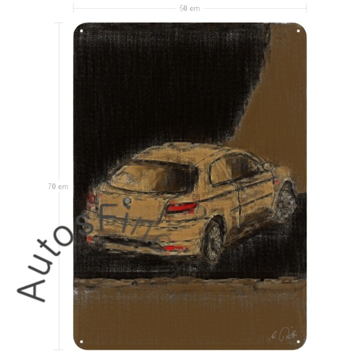 Alfa Romeo GT - Blechbild No. 15aClassic