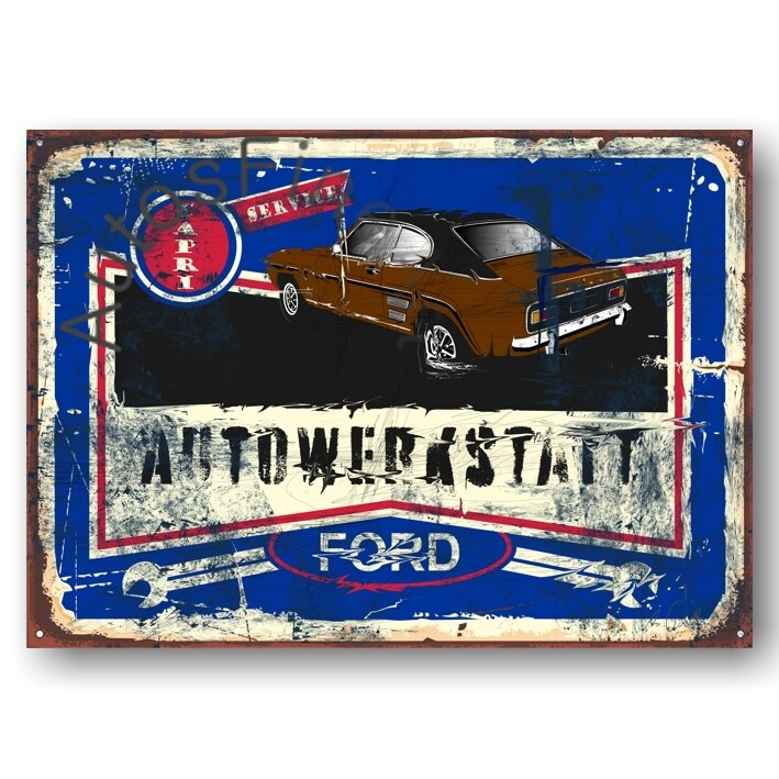 Ford Capri - Poster No. 128street