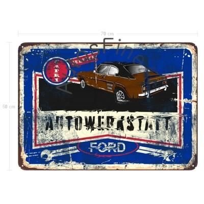 Ford Capri - Blechbild No. 128
