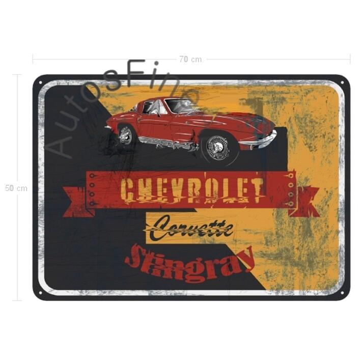 Chevrolet Corvette C2 Stingray - Blechbild No. 156street