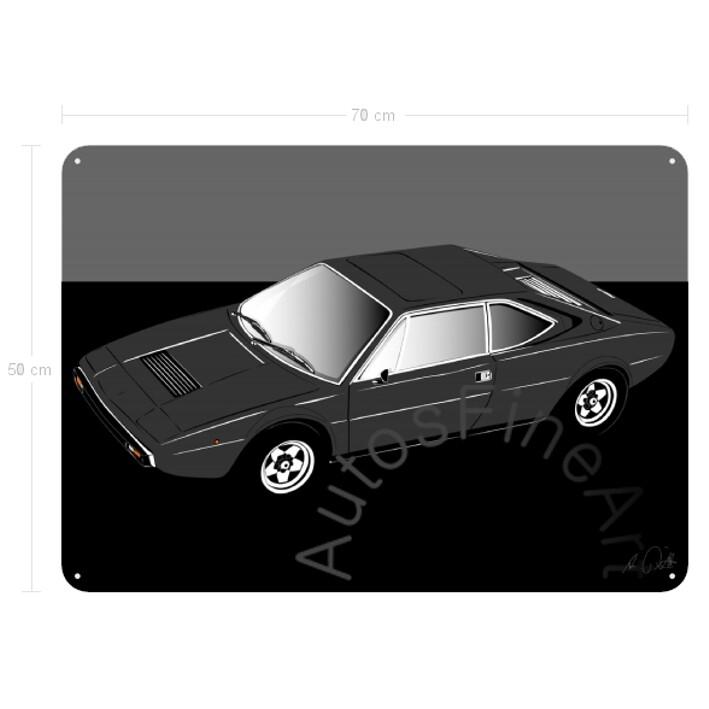Ferrari Dino 308 GT4 - Blechbild No. 62sketch