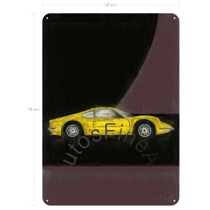 Ferrari Dino 206 GT - Blechbild No. 19aClassic