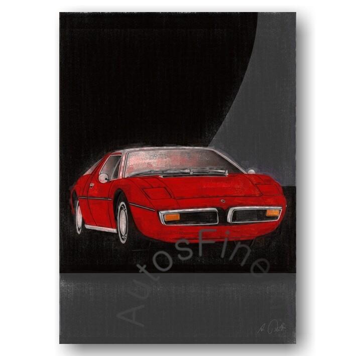 Maserati Bora - HD Aluminiumbild No. 37aClassic