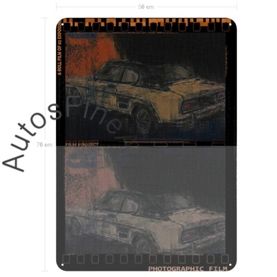 Ford Capri - Blechbild No. 128urban