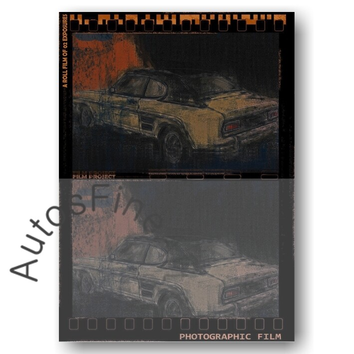 Ford Capri - Poster No. 128movie