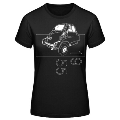 BMW Isetta Frauen T-Shirt - No. 160sketch