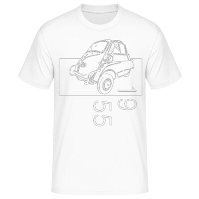 BMW Isetta Männer T-Shirt - No. 160sketch