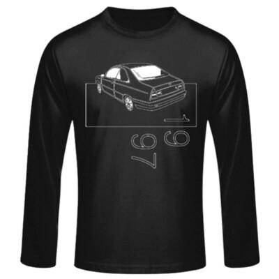 Lancia Kappa Coupé Männer Langarmshirt - No. 22