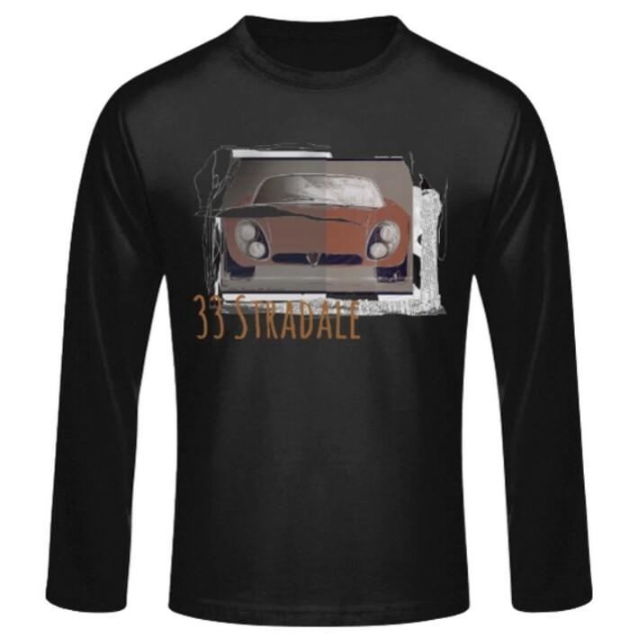 Alfa Romeo 33 Stradale Männer Langarmshirt - No. 104urban
