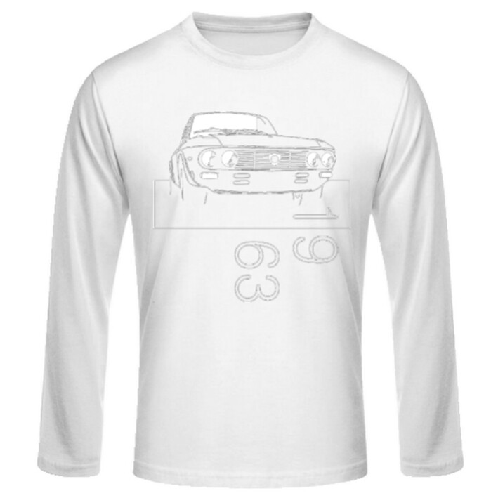 Lancia Fulvia Männer Langarmshirt - No. 42sketch