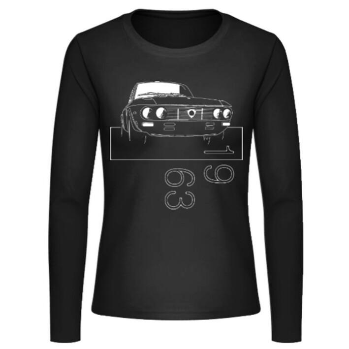 Lancia Fulvia Frauen Langarmshirt - No. 42sketch