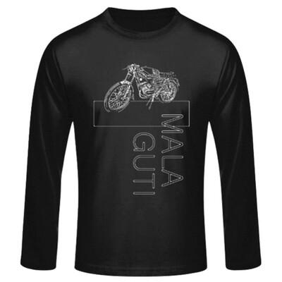 MOTORRAD No. 1sketch MALAGUTI Superquattro - Männer Langarmshirt