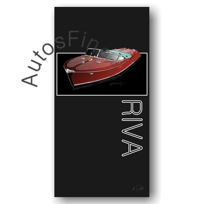 Poster SHIP No. 2named RIVA BOOT