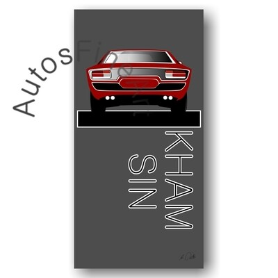 Poster Maserati Khamsin - No. 5named