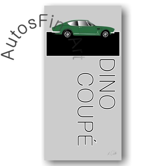 Fiat Dino Coupé - Poster No. 8named