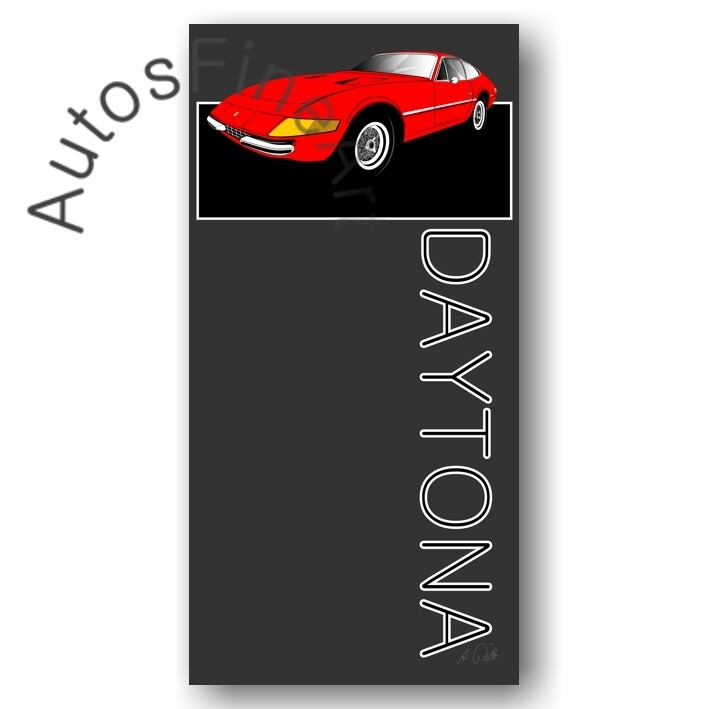 Ferrari 365 GTB/4 DAYTONA - Poster No. 6named