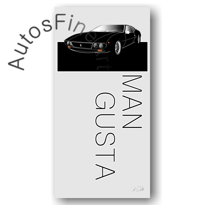 De Tomaso Mangusta - Poster No. 9named
