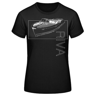 RIVA-BOOT Frauen T-Shirt - No. SHIP2sketch