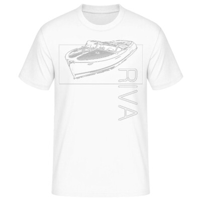 RIVA-BOOT Männer T-Shirt - No. SHIP2sketch