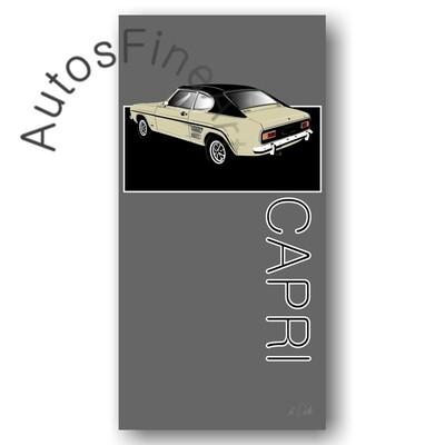 Ford Capri - Poster No. 128named