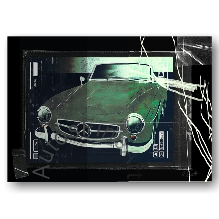 Mercedes 190 SL - Poster No. 134urban