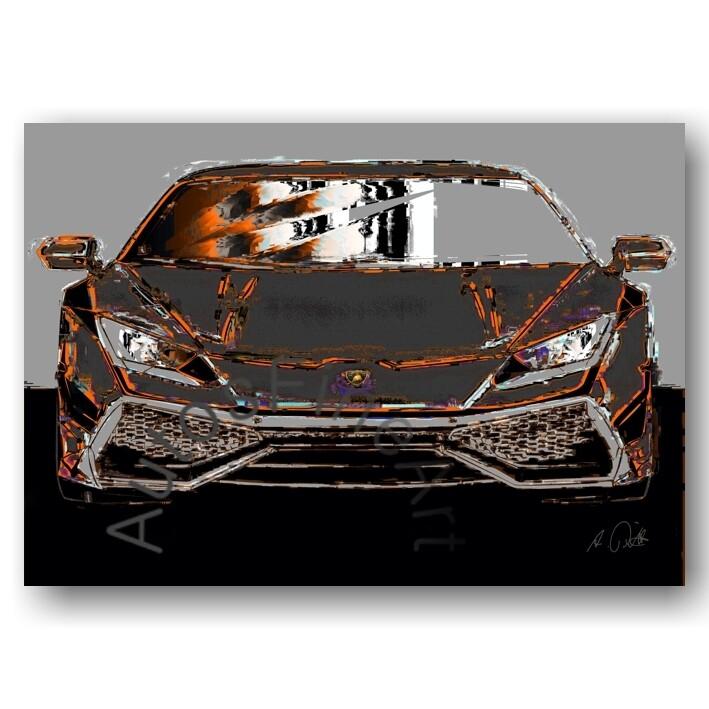 Lamborghini Huracan - HD Aluminiumbild No. 163italy