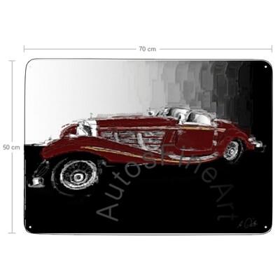 Mercedes 540 K Special Roadster - Blechbild No. 153italy