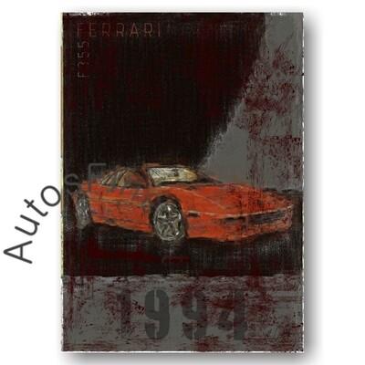 Ferrari F355 - Poster No. 1Plate